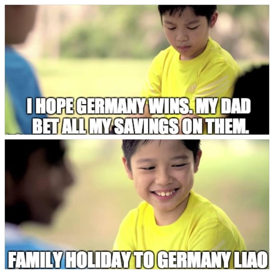 Germany gambling ad